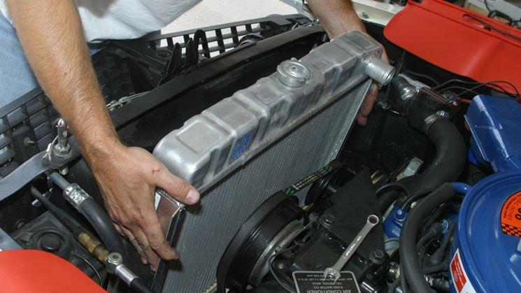 radiatore di automobile