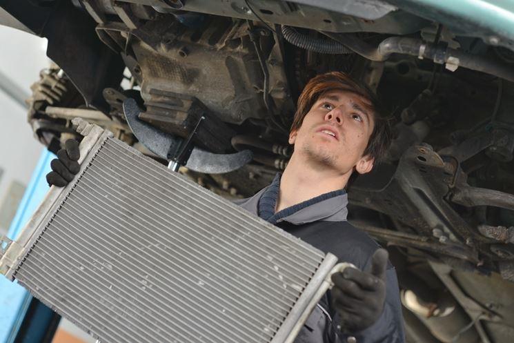 manutenzione radiatore