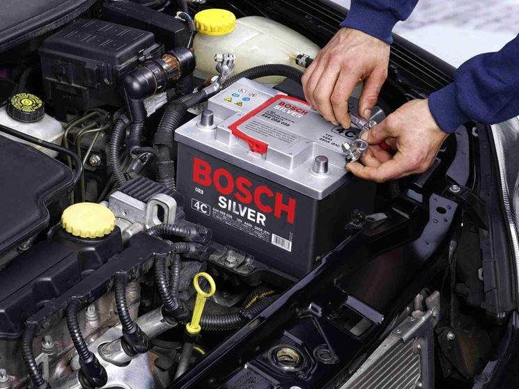 Esempio di batteria per auto