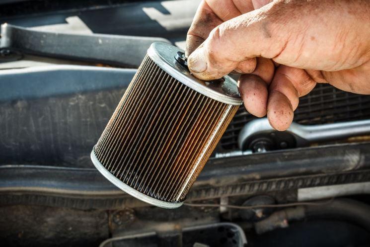 Sostituzione filtro diesel