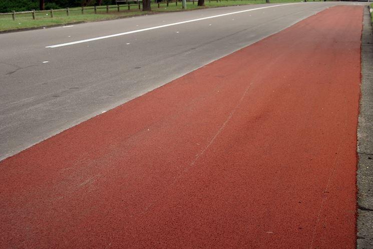 Esempio asfalto colorato