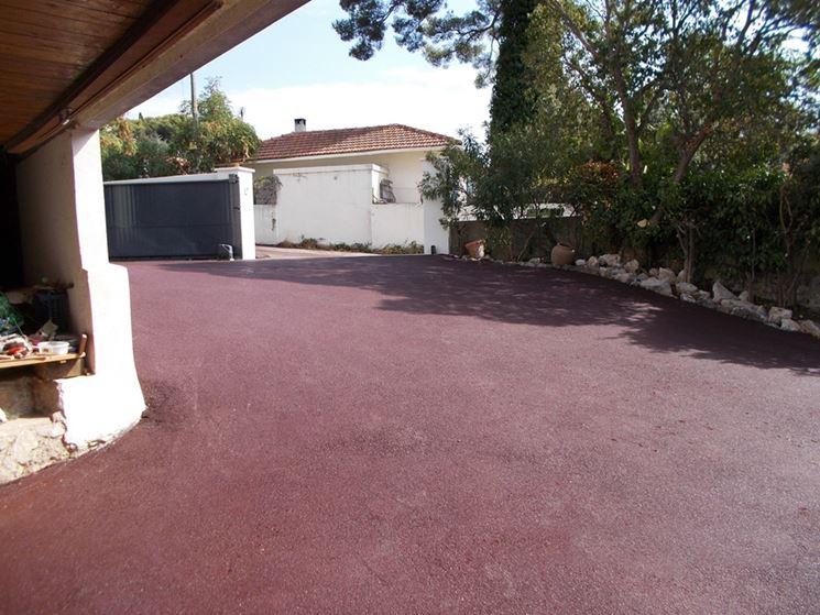 Applicazione asfalto