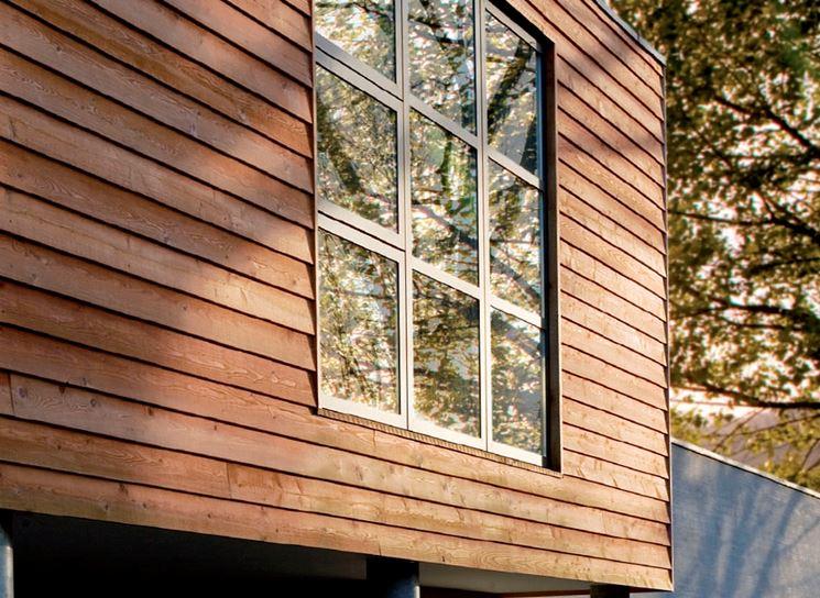 Impregnante per legno in facciata