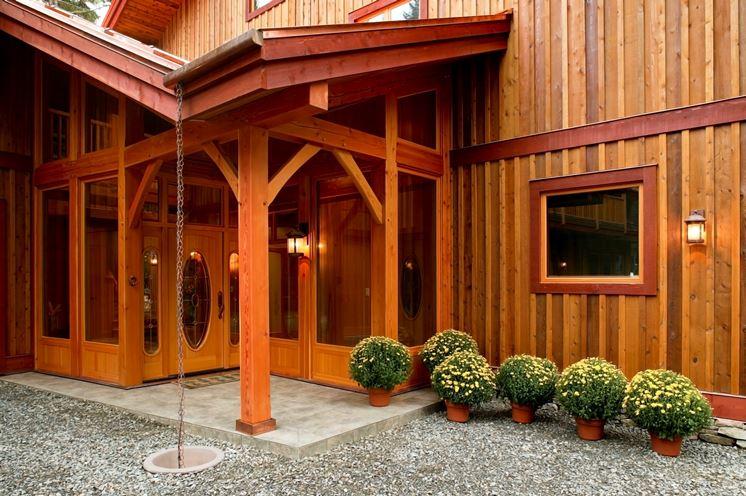Protezione del legno esterno