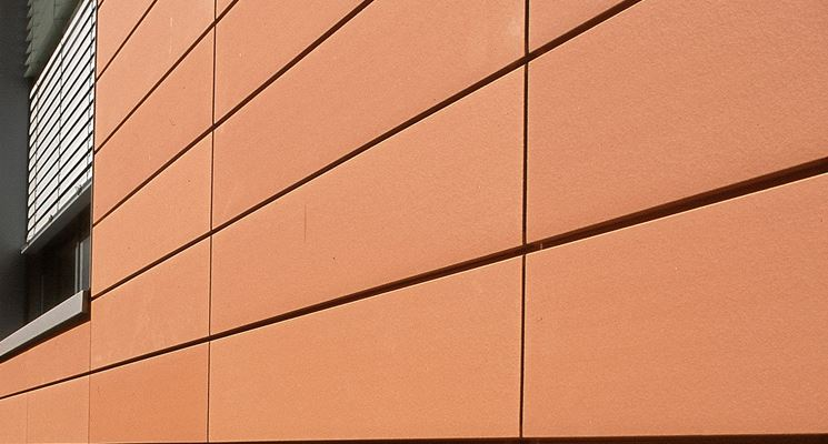 facciata in terracotta