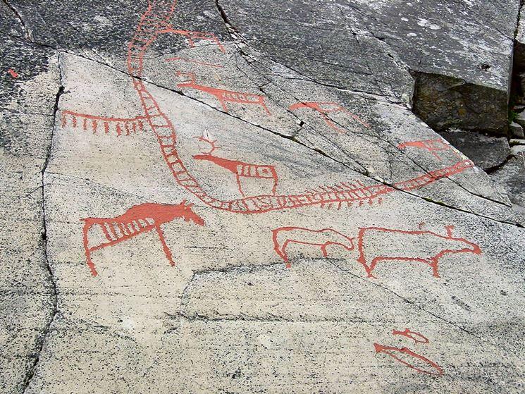la colla utilizzata nell'antichità