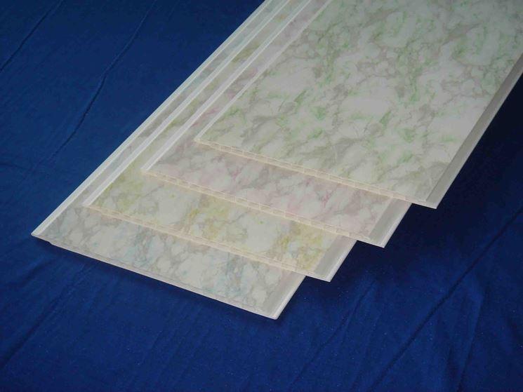 perline in PVC ad 'effetto marmo'