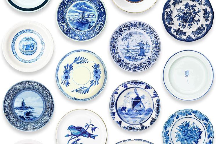 Vari elementi in porcellana