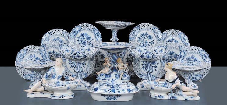 Esemplari di porcellane europee