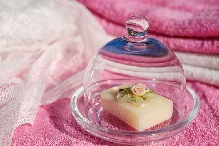 Sapone con rosellina