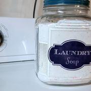 Detersivo per lavatrice fatto in casa