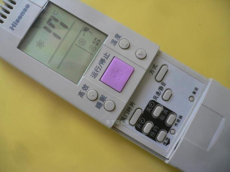 Telecomandon condizionatore