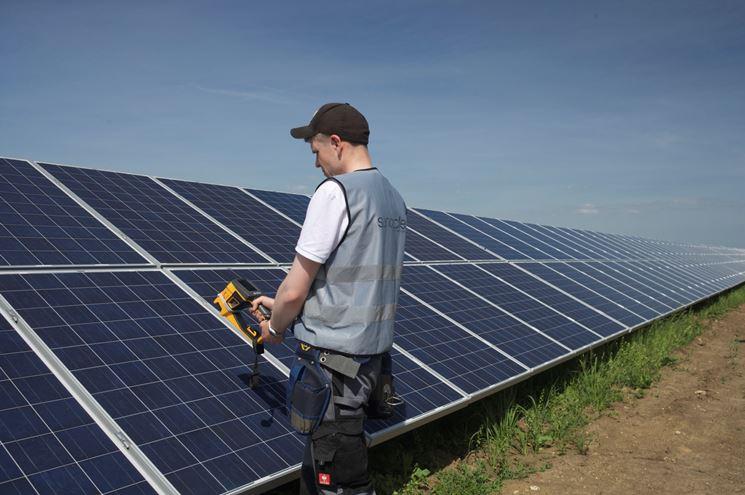 controllo pannelli fotovoltaici