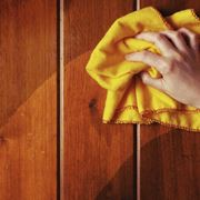 Una manutenzione ordinaria del legno
