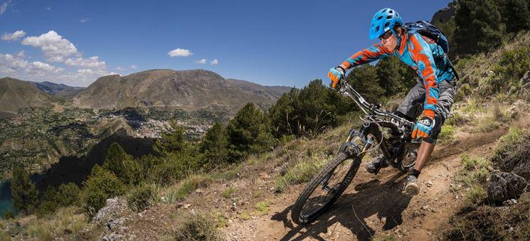 Esempio di mountain bike