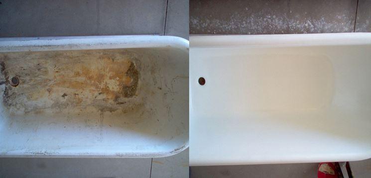 Rismaltatura Vasche Da Bagno Riparazione Manutenzione Vasca