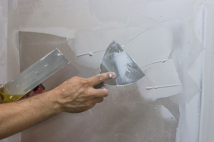 Stuccare Riparazione Come Stuccare