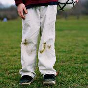Macchie di erba sui pantaloni