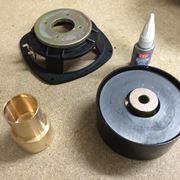 riparazione cono cassa acustica