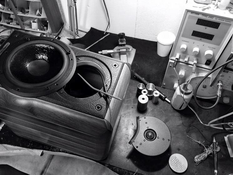 riparazione cassa acustica
