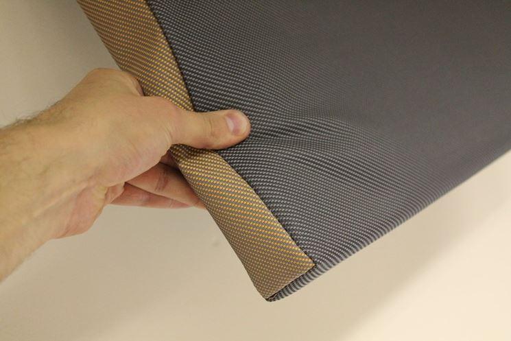 Rotolo di materiale fonoassorbente