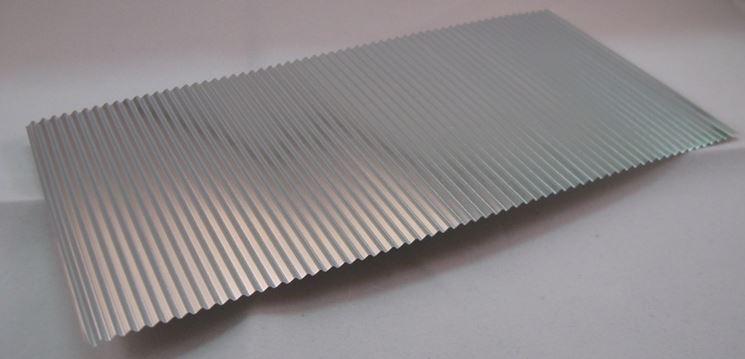 Componente in alluminio trattato