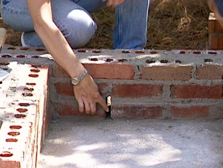Esempio di lavori in muratura fai da te