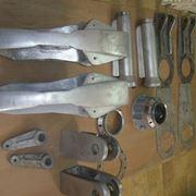 Oggetti di alluminio verniciati