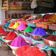 Diversi pigmenti colorati