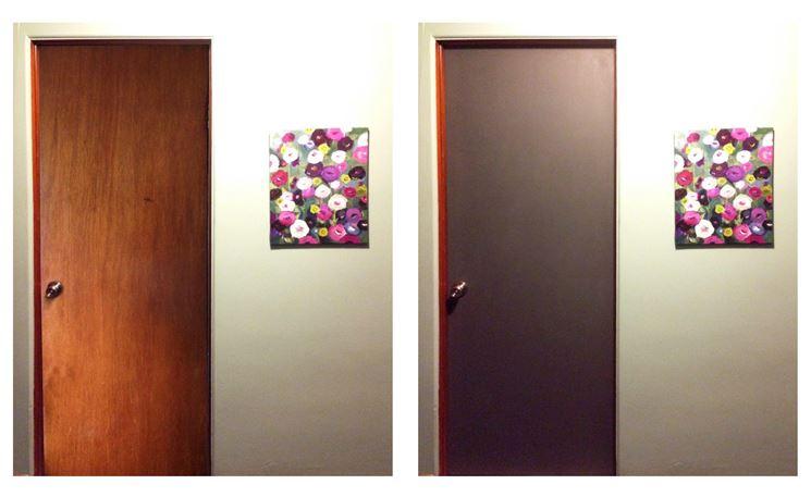 Verniciare porte interne tinteggiare come verniciare porte interne - Porte grezze da verniciare ...