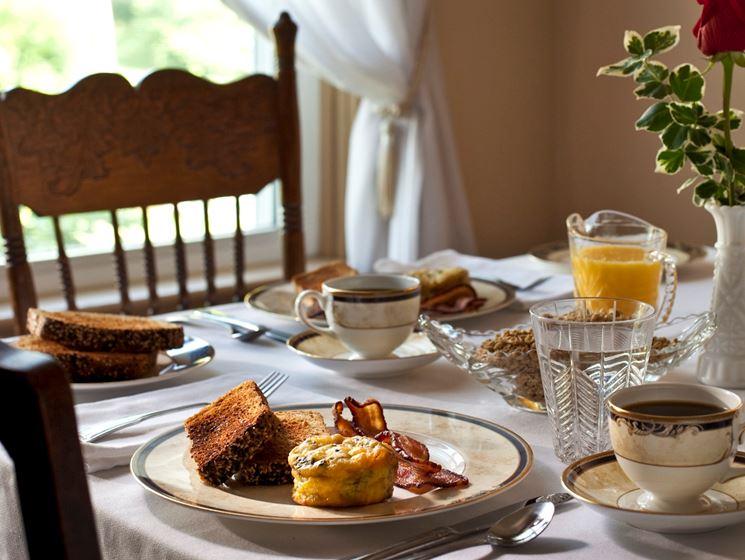 colazione Bed and breakfast