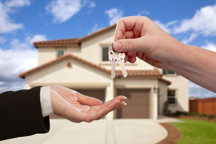 consegna chiavi casa