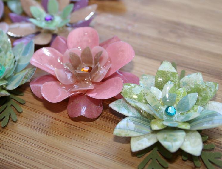 Fare fiori di vetro