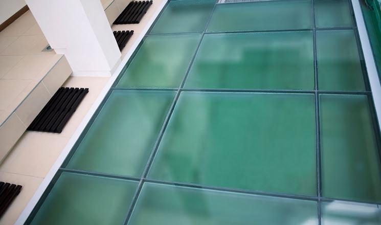 Lastra di vetro sabbiato