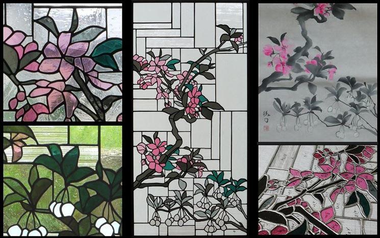 Vetrate decorate vetri utilizzo vetrate colorate - Vetri decorati moderni ...
