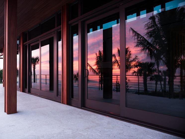 La bellezza delle vetrate scorrevoli