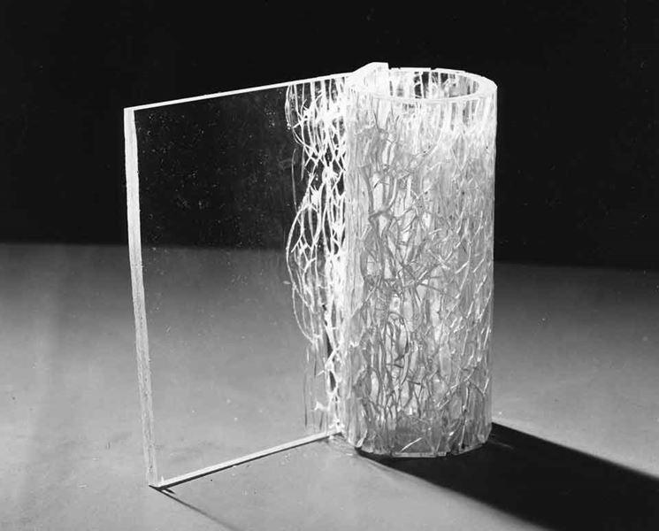 Dettaglio vetro antisfondamento
