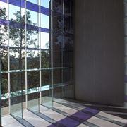Vetrata in vetro strutturale