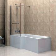 Vetro vasca da bagno in stile minimal