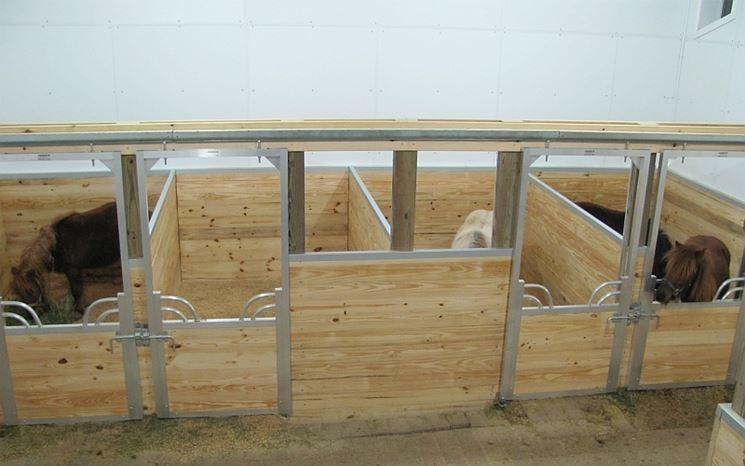 box in legno per cavalli casette di legno realizzare