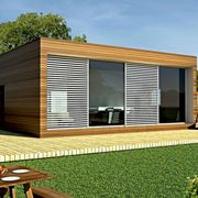 Casa prefabbricata moderna in legno di 79 mq