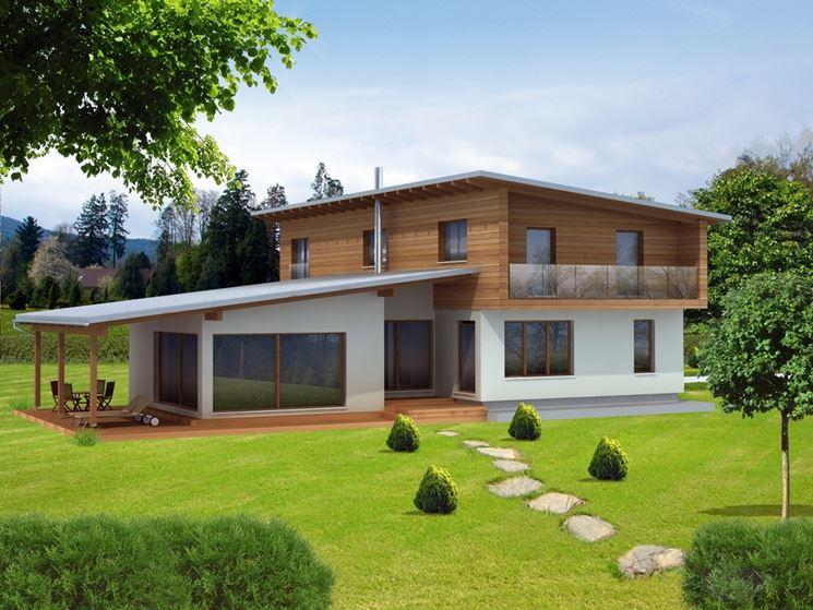 Casa prefabbricate casette di legno case tipo for Grandi planimetrie
