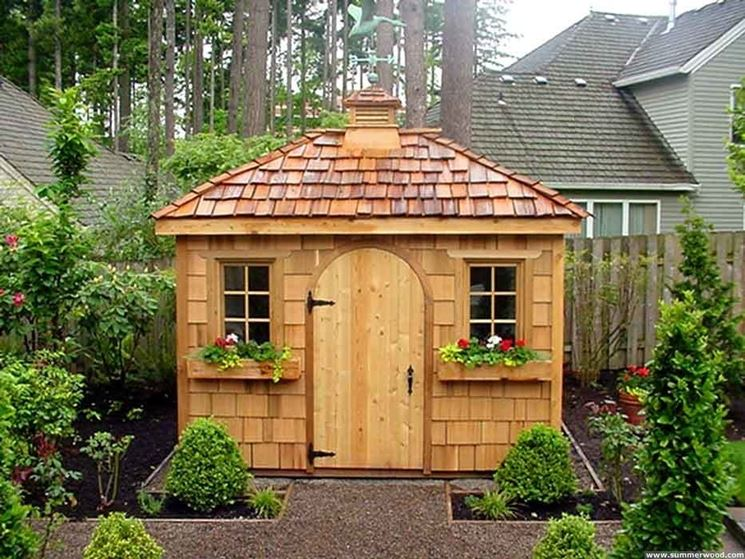 Casette da giardino casette di legno modelli e tipologie di casette per giardino - Casette da giardino in resina ...
