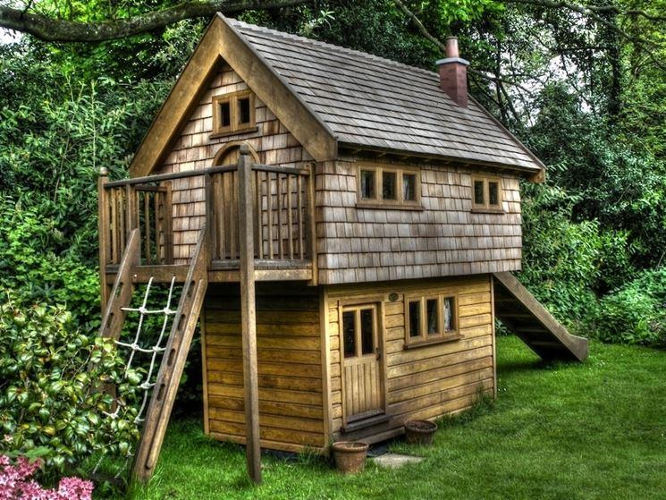 Casette in legno da giardino - Casette di legno - tipologie di casette in legno da giardino