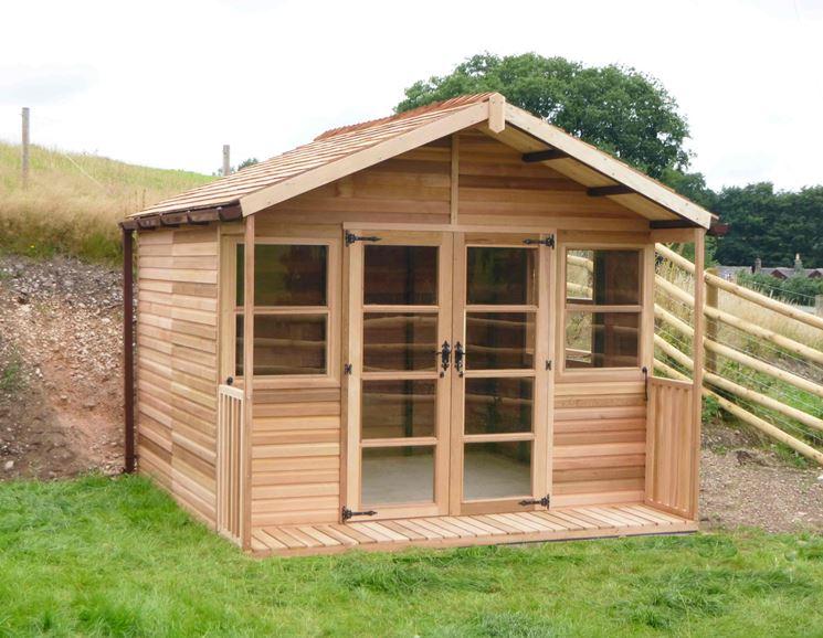 Casette in legno casette di legno tipologie e for Costo casette di legno