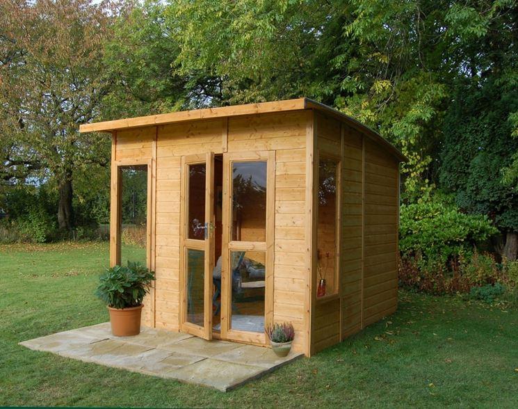 Casette legno giardino casette di legno tipologie di - Casette in legno per giardino ...
