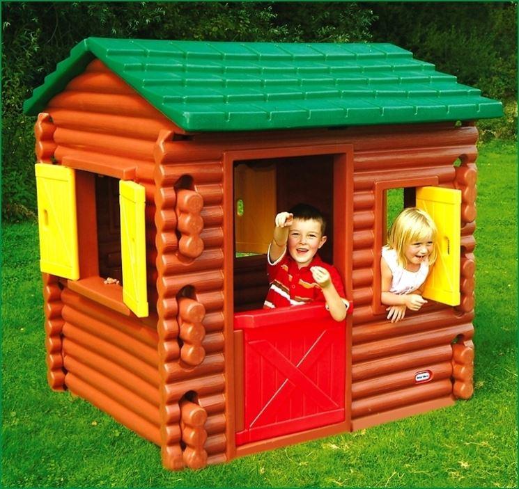 Casette per bambini casette di legno tipologie di for Casa legno bambini