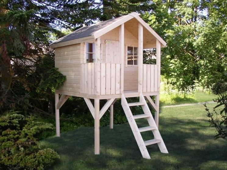 Casette per bambini - Casette di legno - Tipologie di ...