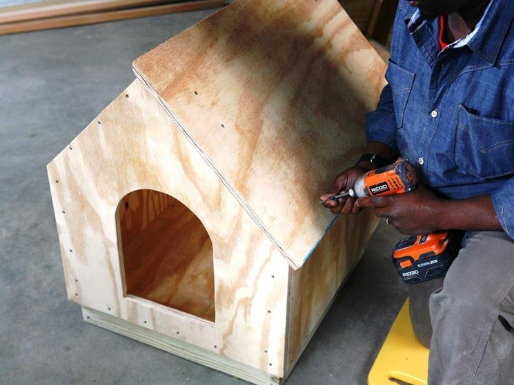 Costruzione casetta legno