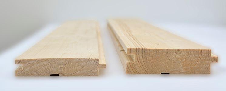 legno per casette